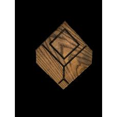 """Плитка из дерева """"Геометрия"""""""