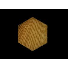 """Плитка из дерева """"Соты"""""""